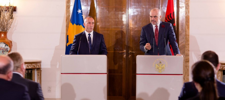 Albania, Kosovo to open joint embassies abroad, PMs say