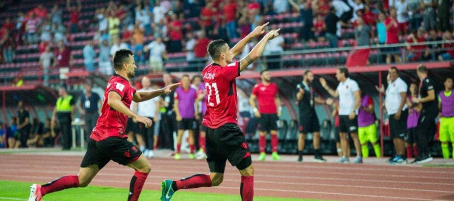 Albania claim hard-earned draw in qualifier with Macedonia