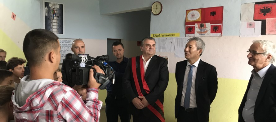 Japan supports northern Albania education