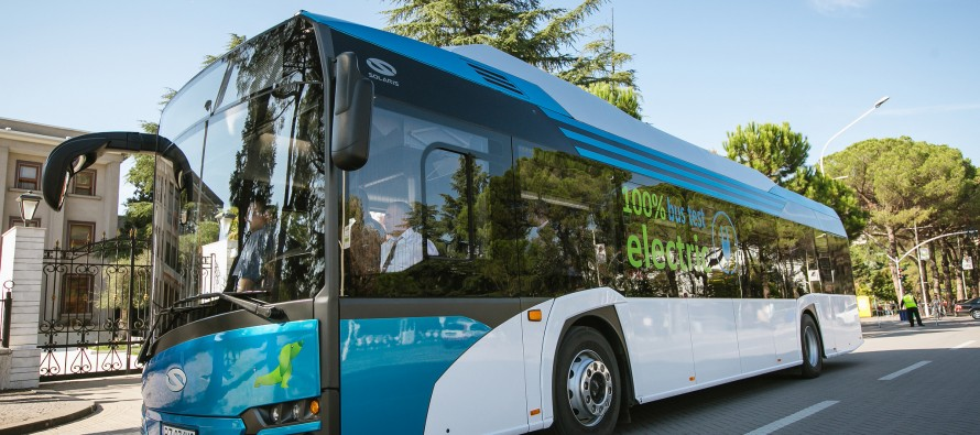 Tirana conducts tests to launch public transport electric buses
