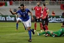 Italy claim hard-earned win against Albania to get seeded for World Cup play-offs