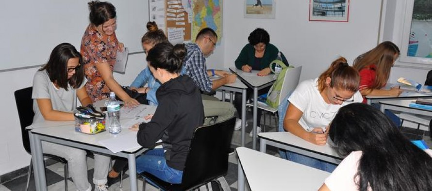 Albanians join regional race to learn German as escape from everyday problems