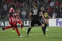 Albania's Skenderbeu held to goalless draw in smooth fixture with Partizan Belgrade