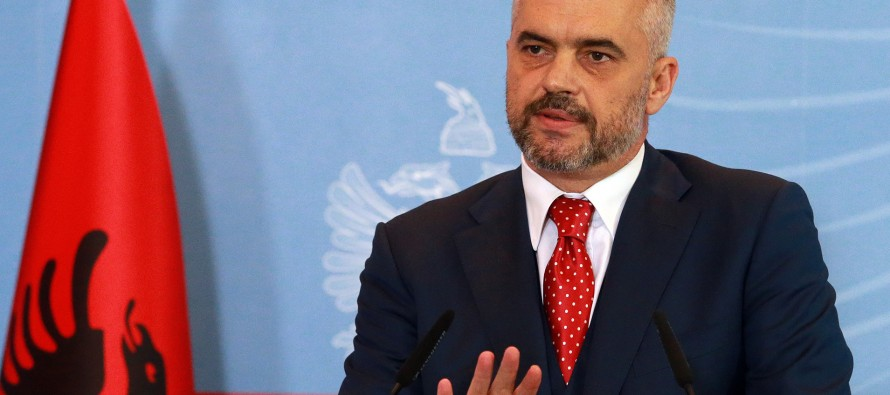 Albania's PM Edi Rama to assume role of foreign minister