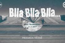 Blla blla blla…promote their latest album at Tirana's pyramid