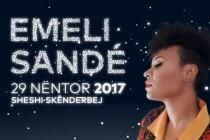British Emeli Sandé, the guest star of Tirana's White Night