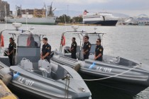 Greek police stop cannabis-transporting Albanian speedboat