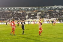 Skenderbeu's Europa League hopes suffer blow after Partizan Belgrade defeat