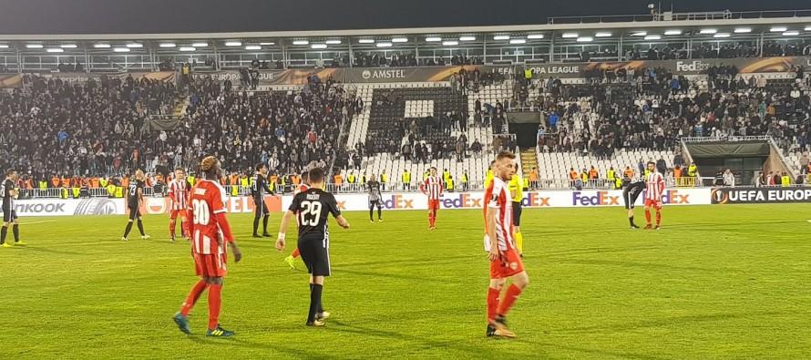 Skenderbeu's Europa League hopes suffer blow after Partizan Belgrade defeat