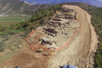 Ancient building ruins discovered during Trans Adriatic Pipeline construction works