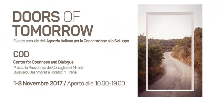 'Doors of Tomorrow': Let's destroy the walls of the past, open the doors of development