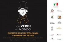 'With Verdi around the world'