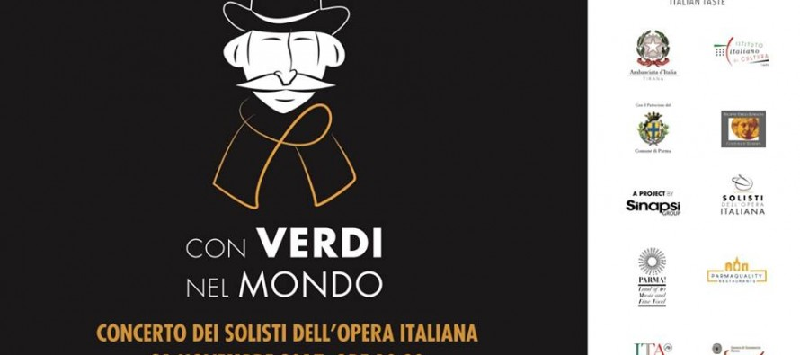 'With Verdi around the world'