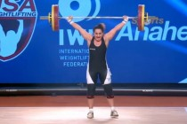 Romela Begaj claims gold at U.S. weightlifting tournament