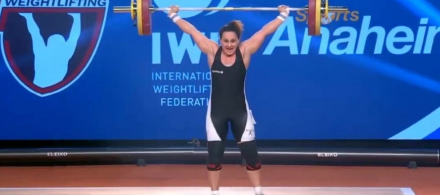 Romela Begaj claims gold at U.S. weightlifting tournament