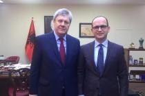 Russian Ambassador, Albanian FM discuss countries' shared agenda