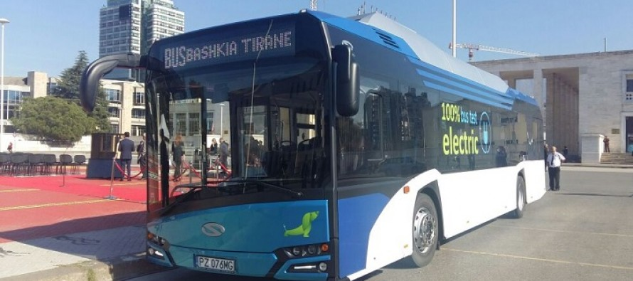 Tirana's mayor promises electric buses by end of 2018