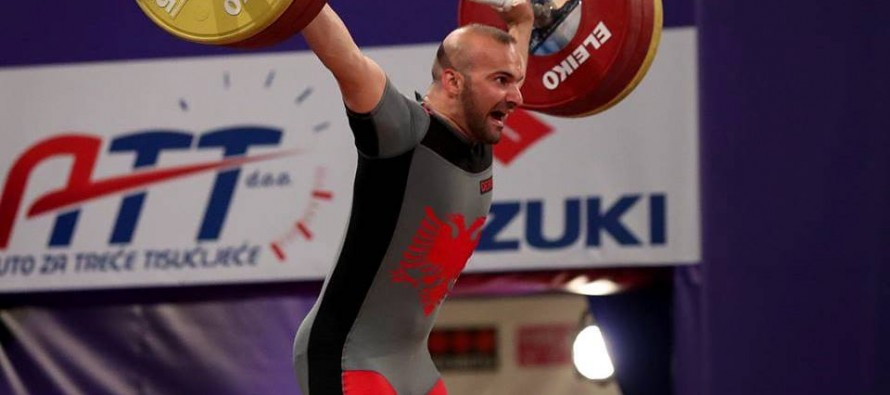 Albanian lifter set for world bronze medal after Romanian rival fails doping test