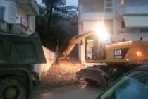 Gjirokaster mudslide affected protest lack of timely response to damages