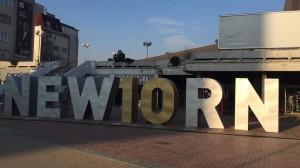 Prishtina's NEWBORN transformed for the occasion