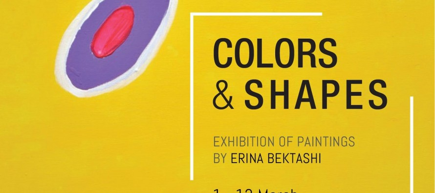 Colors and Shapes exhibition at Kalo Gallery
