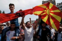 Macedonia approves Albanian as official language amid parliamentary tension