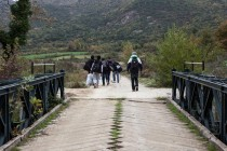 Syrians detained in Shkodra, five Albanians arrested on trafficking charges