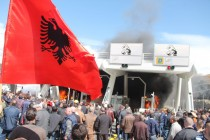 Nation Highway toll road protest turns violent, protesters clash with police