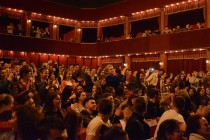 Tirana's first high school drama clubs exhibit talent on National Theatre stage