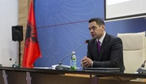 Finance Minister Arben Ahmetaj