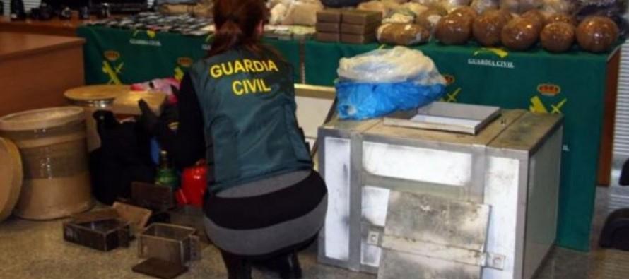 Spanish police bust Albanian-led drug ring
