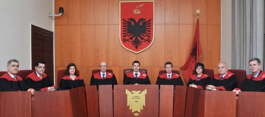 Third Constitutional Court judge officially ousted under Albania's judicial reform