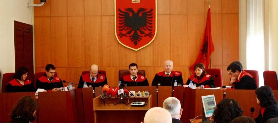 Another Constitutional Court judge risks expulsion under Albania's judiciary reform