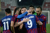 Albanian elite club is one step from first-ever relegation
