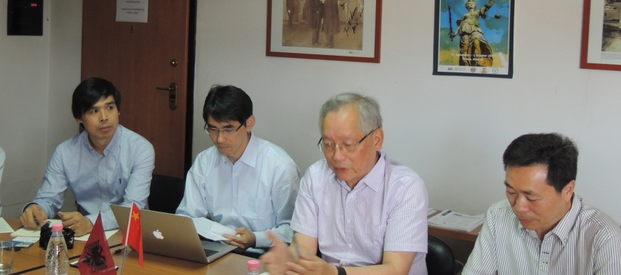 AIIS, Shanghai Academy of Social Sciences discuss joint cooperation projects