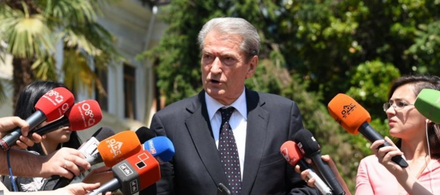 Ex PM Berisha alleges Greece imposing new maritime border deal  without proper negotiations
