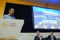 Tirana's transformation praised during 2018 World Cities Summit in Singapore