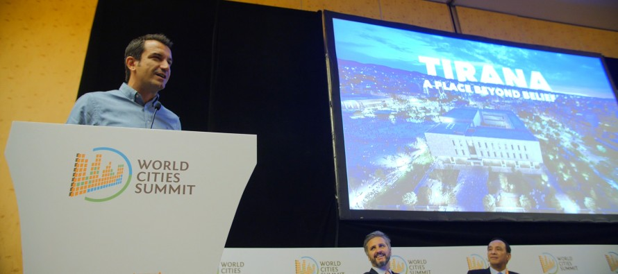 Tirana's transformation praised during 2018 World Cities Summit in Singapore
