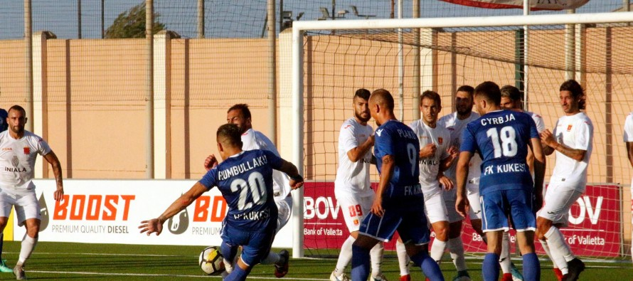 Albania's Kukes claim hard-earned win over Valleta to keep qualifying hopes alive