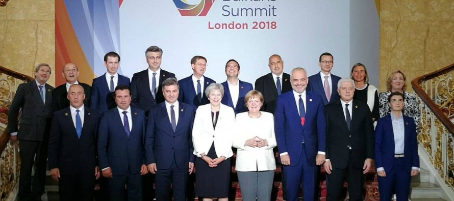 Facing uncertain future, region comes together at London Summit
