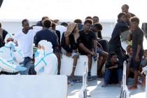 Albania and Ireland take in migrants blocked in Italian ship