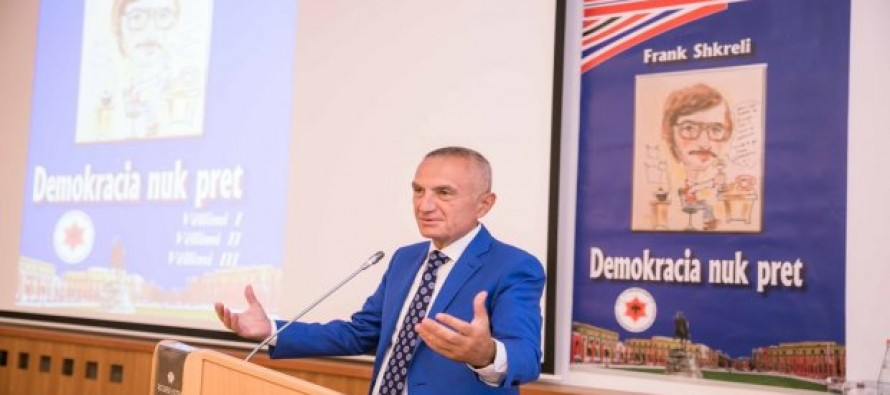 'Democracy doesn't wait' book launches in Tirana