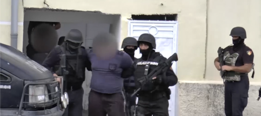 Police hits suspected Shkodra criminal groups under 'Force of Law' operation