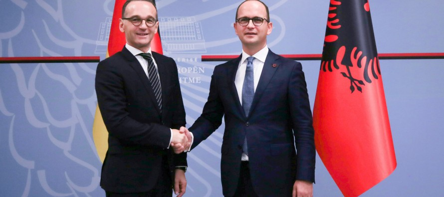 German foreign minister says 2019 won't automatically open negotiations for Albania
