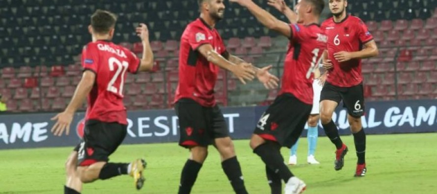 Nations League: Albania face Scotland after opening hard-earned win over Israel