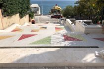 Rehabilitated staircases ease access to Albania's southern gem