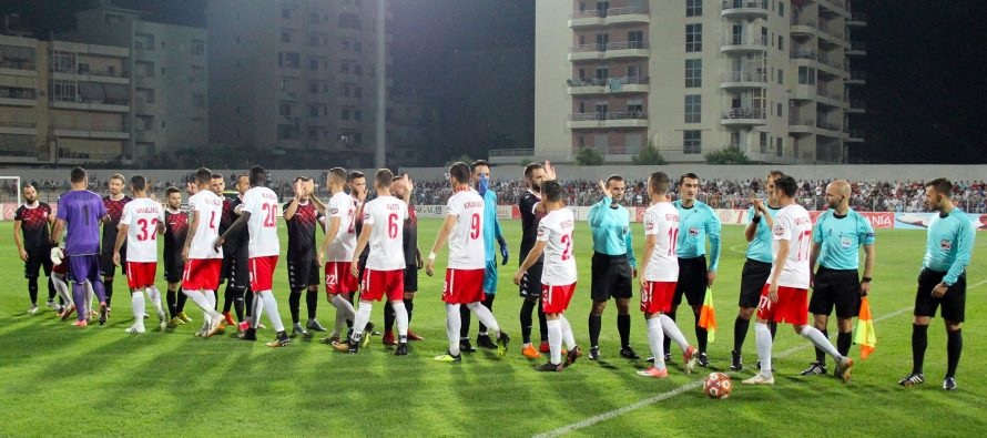 European competition banned Skenderbeu remain Albanian Superliga favorites