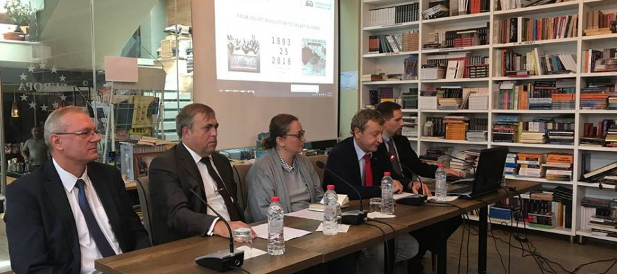 AIIS seminar on Czechoslovakia discusses the division of states