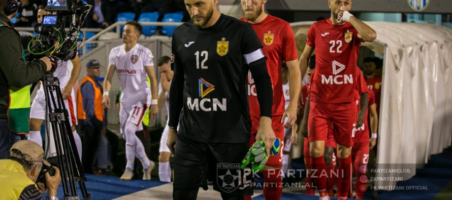 Partizani handed two-game stadium ban over racist behavior