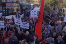 Tirana residents protest Great Ring project, as opposition warns of corrupt affair